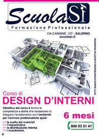 Corso design d'interni